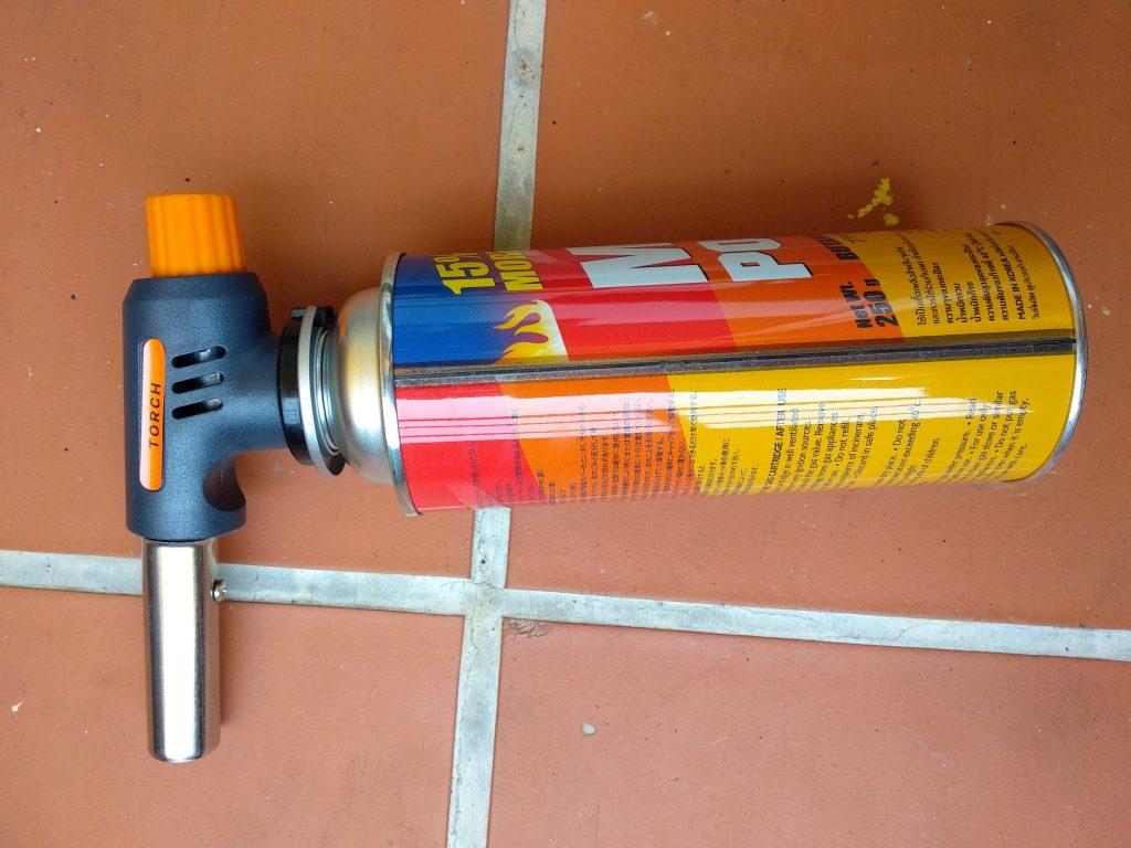 Газовая горелка для розжига углей для кальяна 300 бат