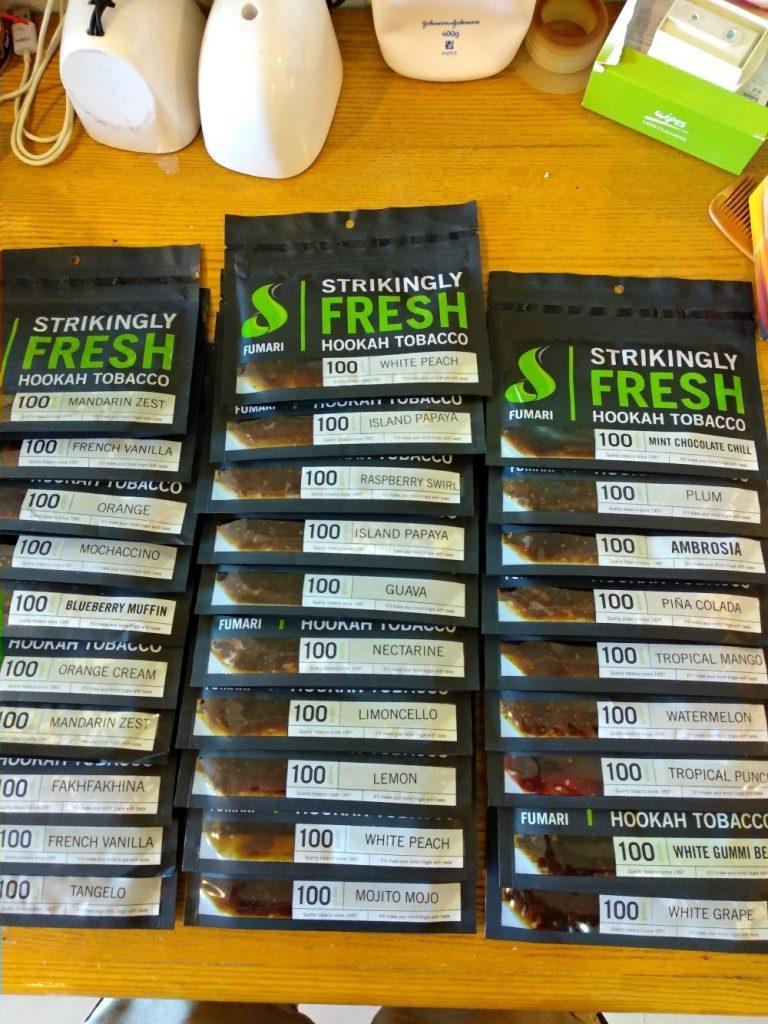 У нас самый большой ассортимент табака для кальяна на Пхукете.