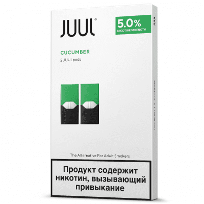 2 картриджа для электронной сигареты juul Labs в паттайе в Тайланде за 500 бат