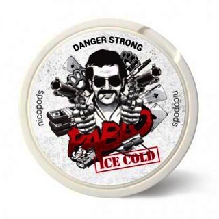 Снюс Pablo Ice Cold - 400 бат
