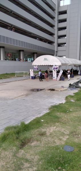 Temporary VISA Extension Center at Muang Thong Tani, Counter K