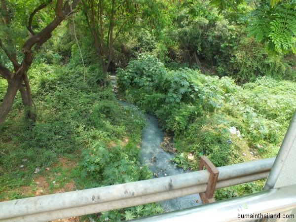 Речка вонючка в нейтральной зоне между Камбоджей и Тайландом.