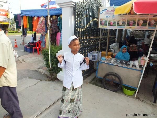 Мусульманский мальчик в Паттайе
