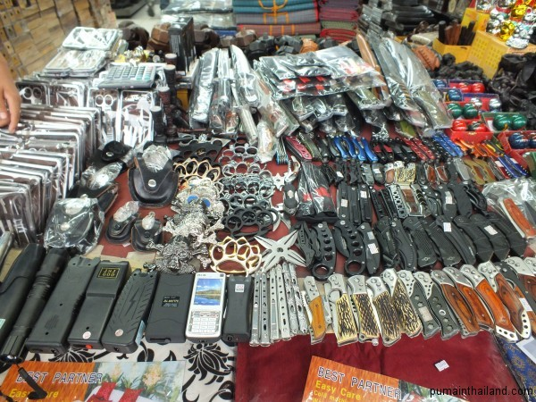 Кастеты, ножи, шокеры в Тайланде