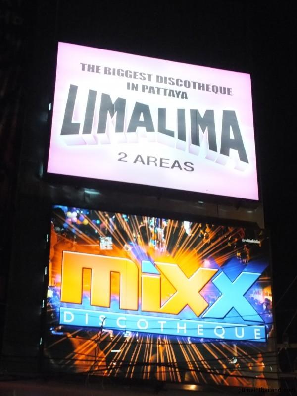 Дискотеки Паттайи LimaLima и Mix