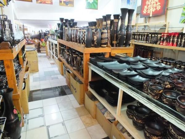 Деревянная посуда из Лукдода