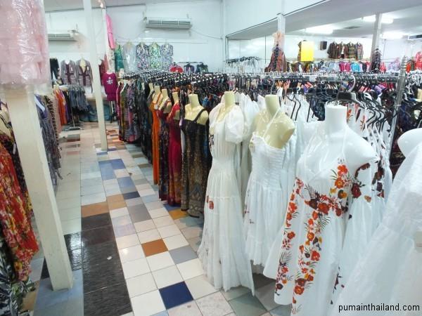 Легкие платьюшки порадуют любую девушку в жаркую порогу в Паттайе