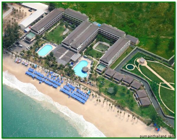 Камала Бич отель на острове Пхукет