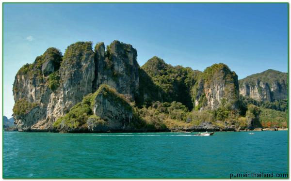 Шикарный вид на остров Краби, Таиланд