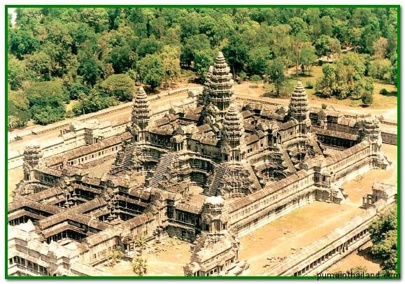 храмовый комплекс в Камбодже