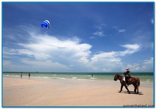 остров Хуанхин, пляжи