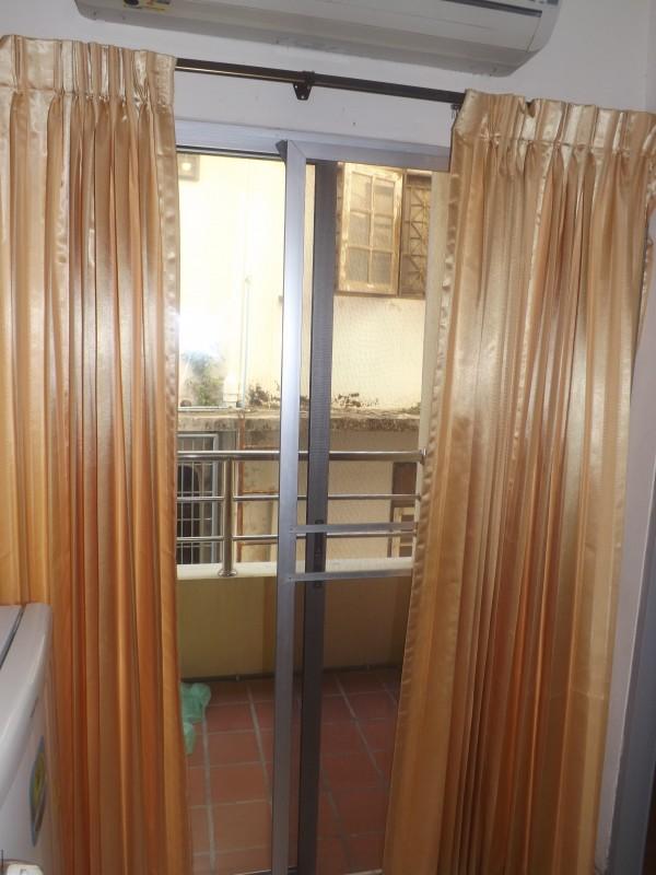 Балкон с сеткой