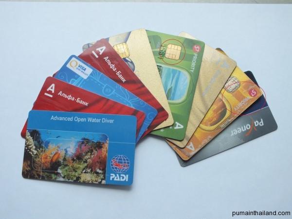 Банковские карточки для путешественника-фрилансера