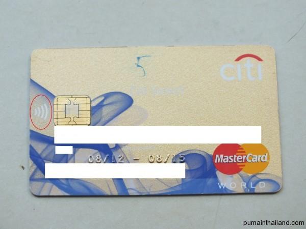 Кредитка citybank с paypass