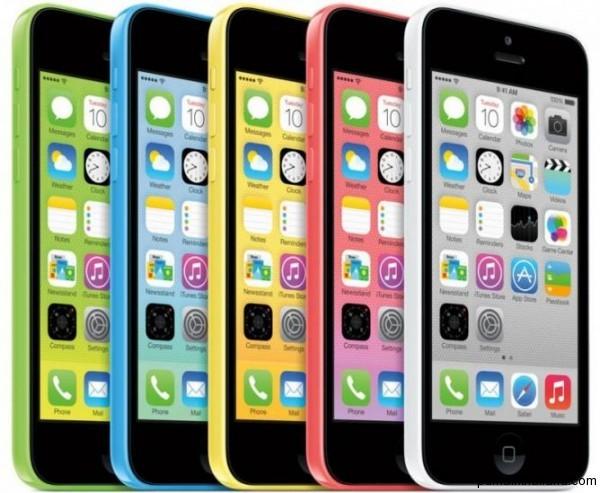 Новый разноцветный iphone 5c в Тайланде