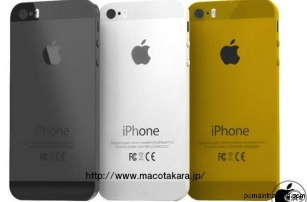 Новый iphone5s в Тайланде, добавился третий цвет золотой