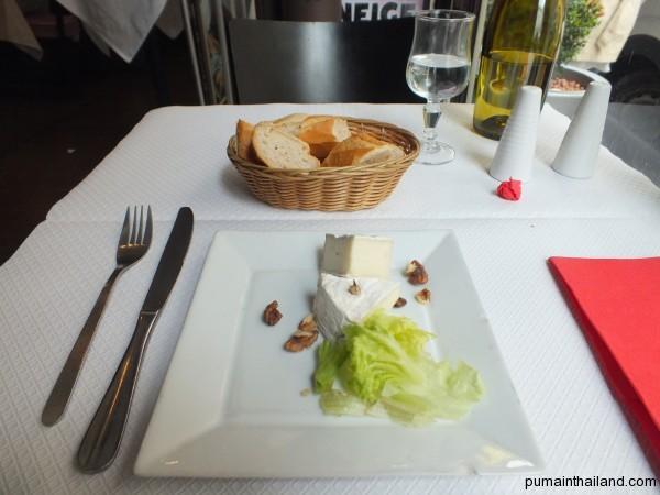 Скромный обед в Париже
