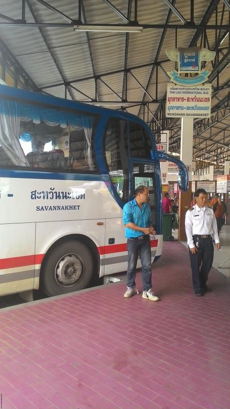 Автобус на Саваннакхет