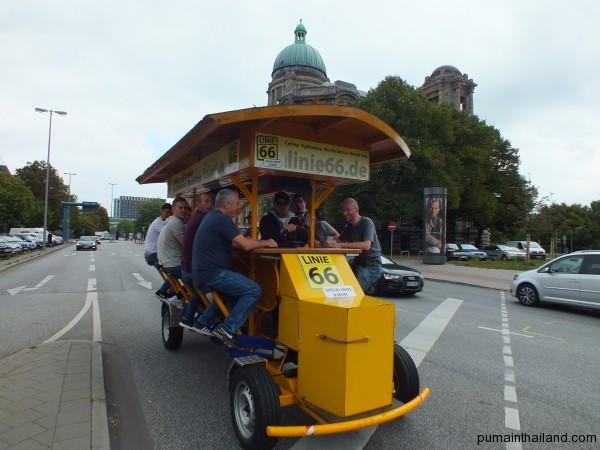 Туристический транспорт в Германии, сам крутишь, сам рулишь
