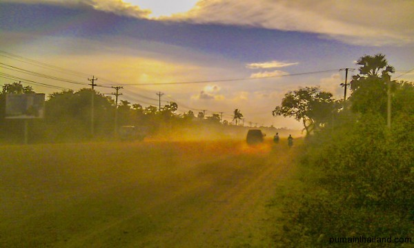 Эх Камбоджа пыль да туман
