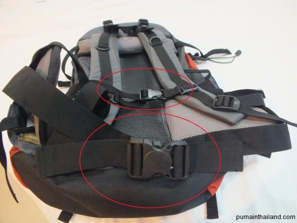 Обязательные передние застежки на груди и поясе