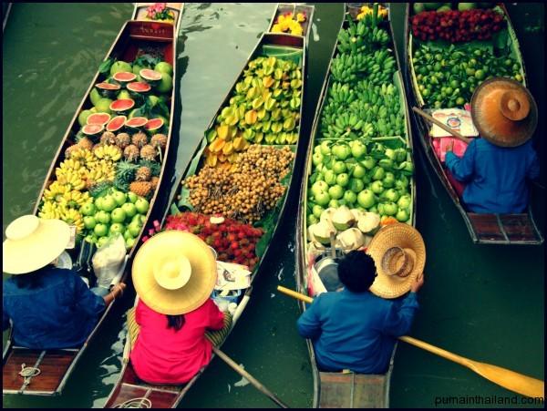Еда на рынке всегда вкусная и дешевая