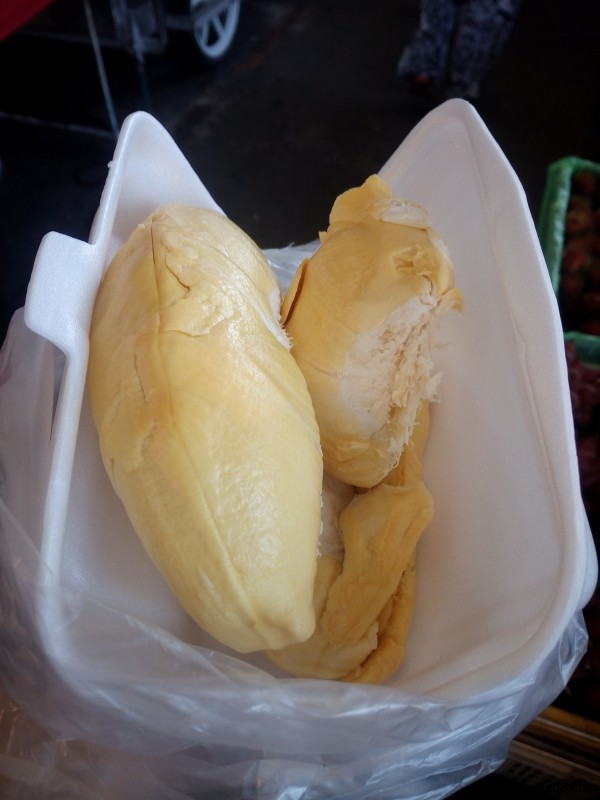 Вкуснейшие дольки дуриана